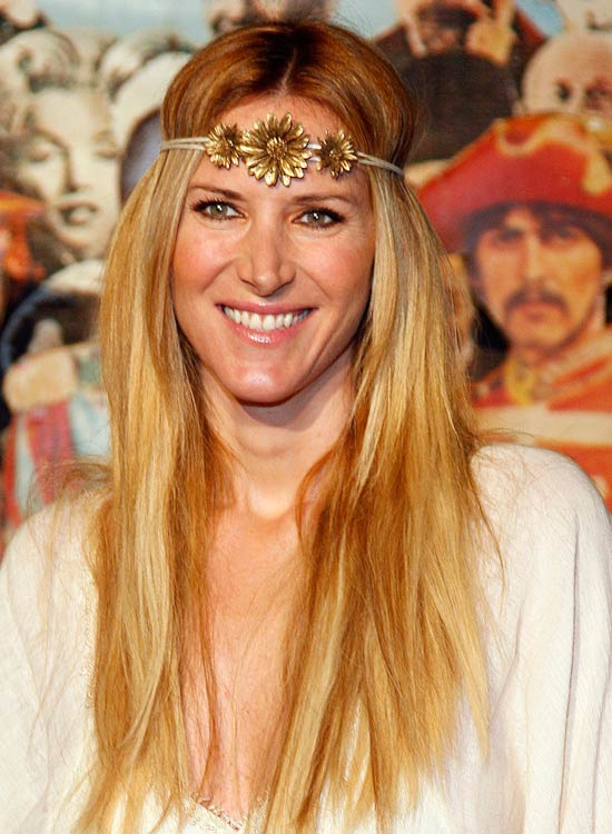 Gold-Emboss-Headbands Best Hippie Hairstyles