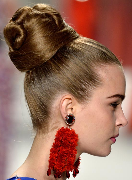 High-Smart-Bun Most Popular Coolest Teen Hairstyles For Girls