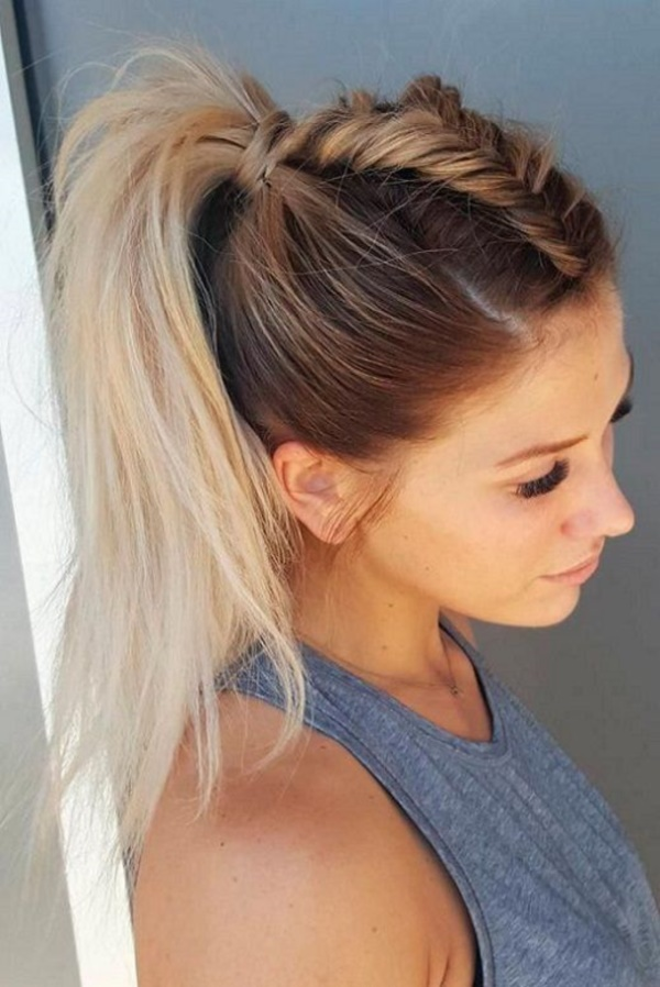 Interweave-Ponytail-Hairstyle-1 Spring Hairstyles to Outshine Your Beauty