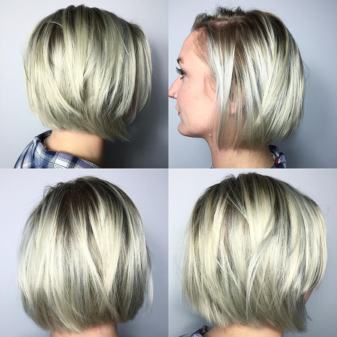 Jaw-Length-Chopped-Bob Bob Haircuts 2019 for an Outstanding Appearance