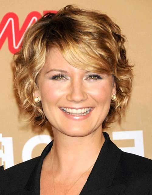 Layered-Short-Curly-Hair-for-Over-40 Short Hair For Over 40