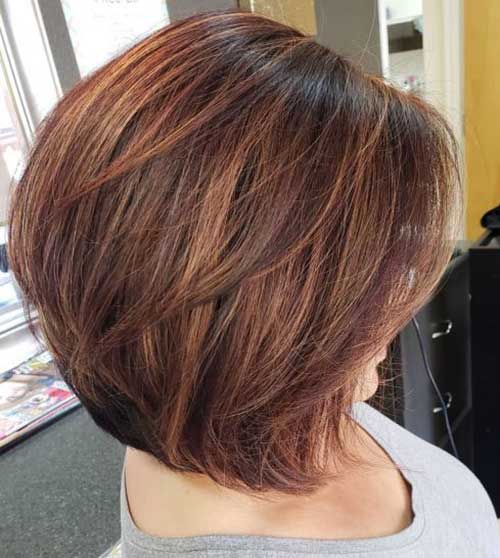 Long-Bob-Style Best Short Haircuts for Over 40
