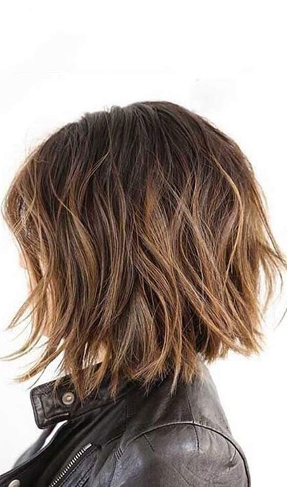 Messy-Bob Short Choppy Hairstyles To Try Out Today