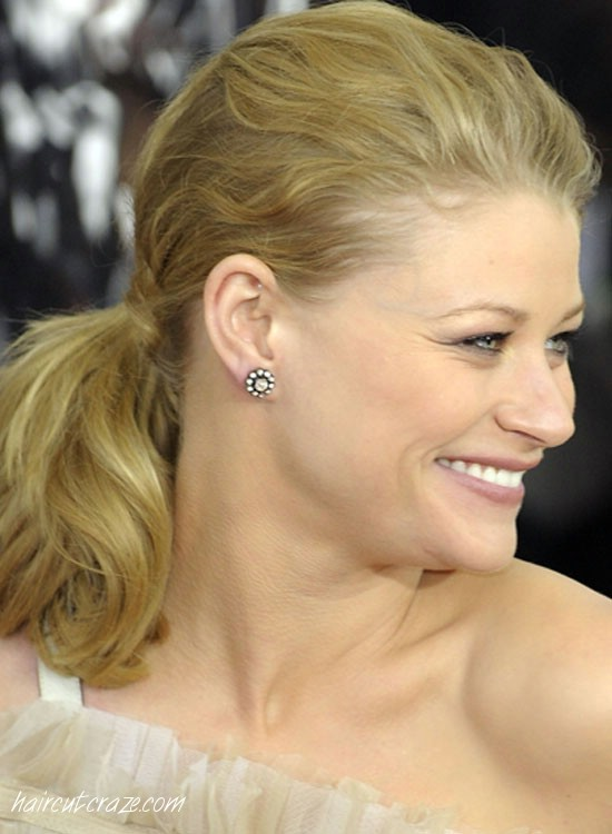 Messy-Short-Ponytail Most Popular Coolest Teen Hairstyles For Girls