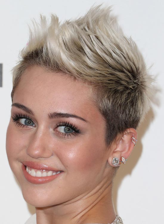 Platinum-Spiked-Pixie Most Popular Coolest Teen Hairstyles For Girls