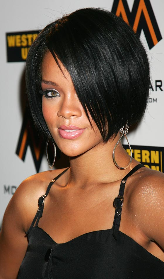 Razor-Sharp-Bob Trendy Graduated Bob Hairstyles You Can Try Right Now