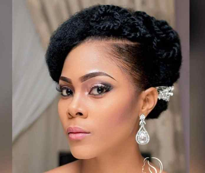 Rolled-and-Secured-Braids-Hairstyle Most Beautiful Natural Hairstyles for Wedding