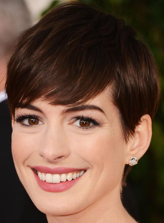 Shiny-Brunette-Pixie Most Popular Coolest Teen Hairstyles For Girls