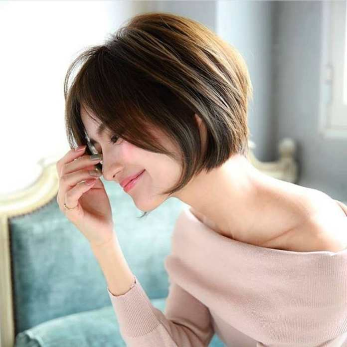 Short-Hairstyle-along-with-a-Shine Style Personified Short Hairstyles for Young Women