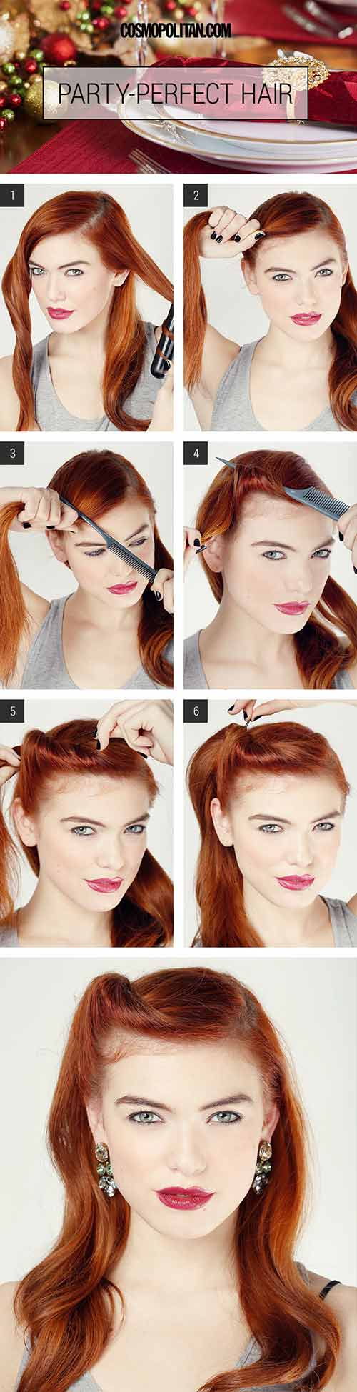 Side-Twist-Party-Perfect-Style Awesome Hairstyles For Girls With Long Hair