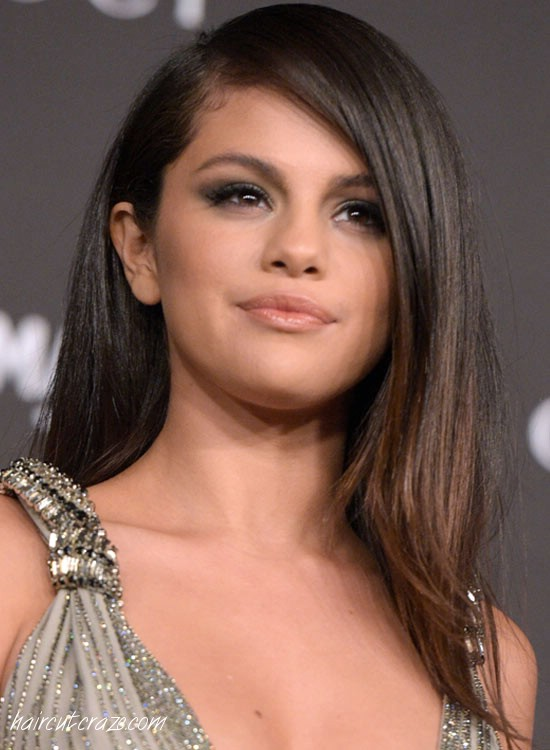 Sleek-Brownish-Tinted-Edges Most Popular Coolest Teen Hairstyles For Girls