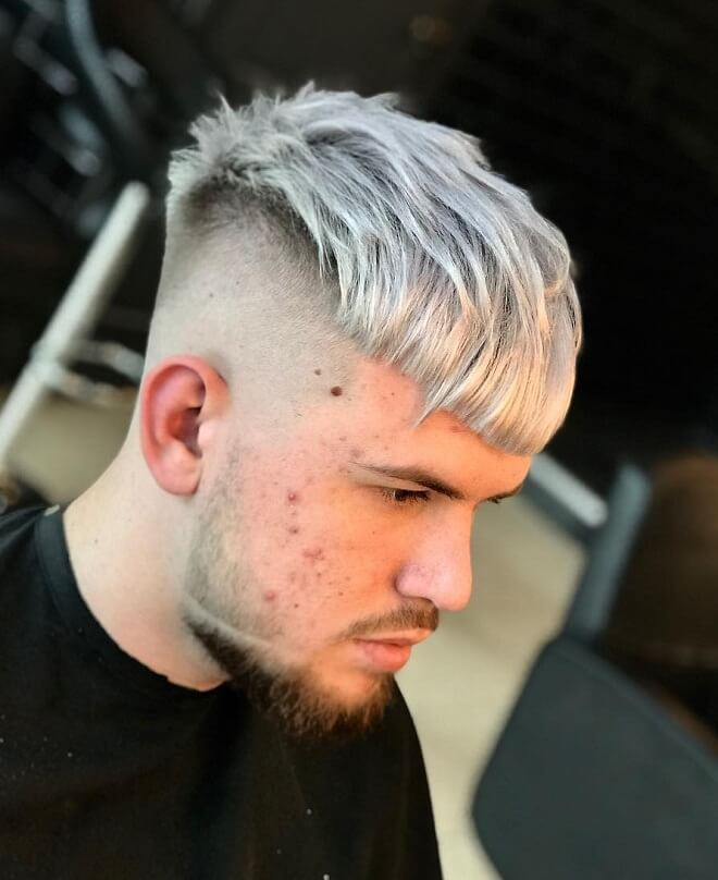The-Undercut-Hairstyle Grey Hairstyles for Men to Look Smart and Dashing