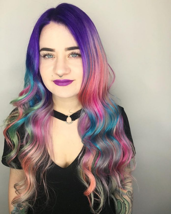 The-Unicorn-Style Modern Hairstyles for Women to Look Trendy