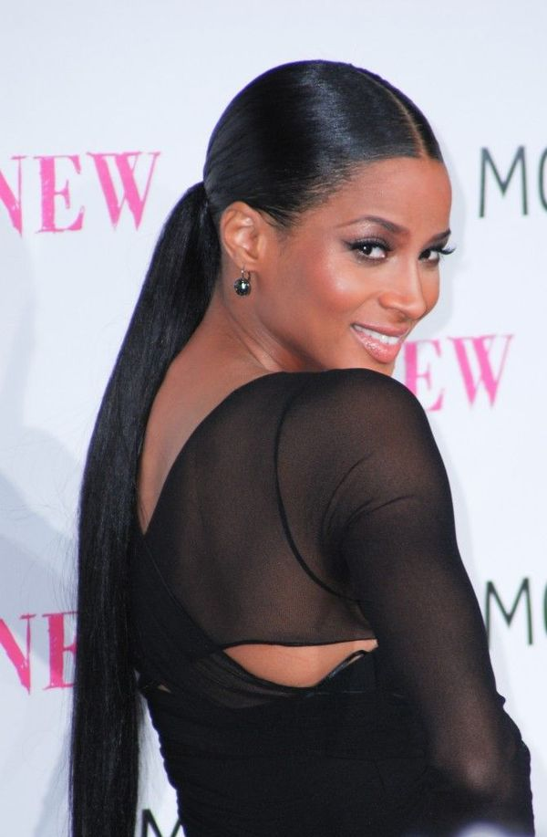 Tightly-Done-Prom-Hairstyle-to-form-a-Ponytail Most Stylish Prom Hairstyles for Black Girls