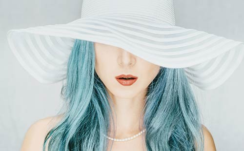 Turquoise Fabulous Hair Colors To Beat The Heat This Summer