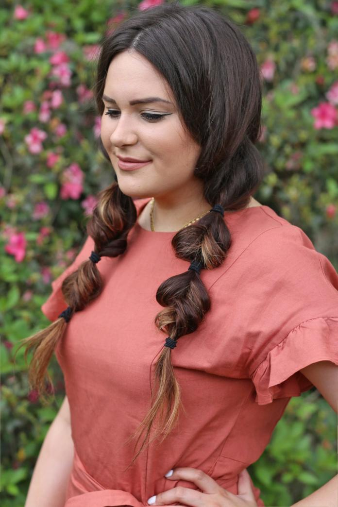 Twisted-Twin-Ponytails-Hairstyle Spring Hairstyles to Outshine Your Beauty