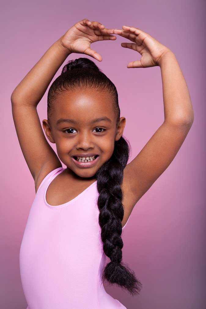 Updo-Braided-Ponytail-Hairstyle Cute African American Hairstyles for Gorgeous Look