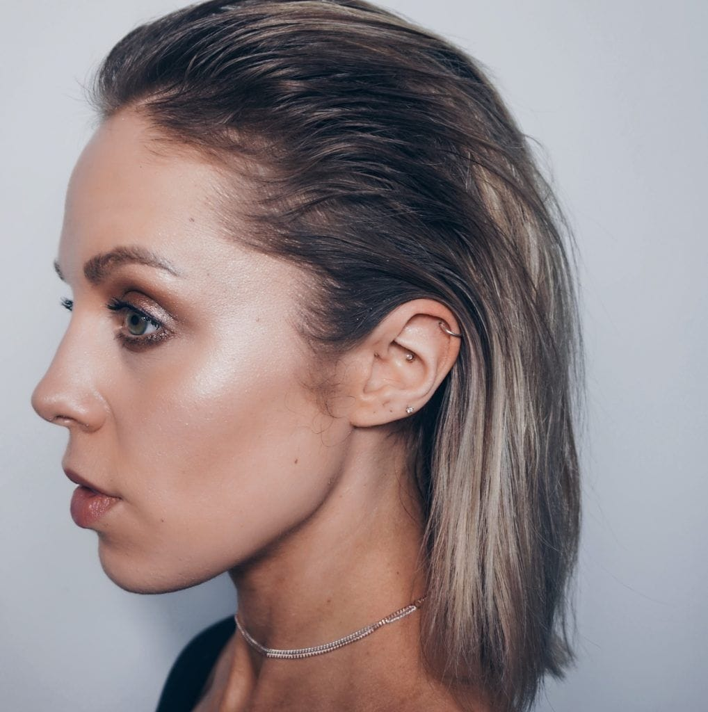 A-Straight-Black-Hair-with-Ashy-Matt-Finish-Highlights Christmas Party Hairstyles to Enhance Your Look