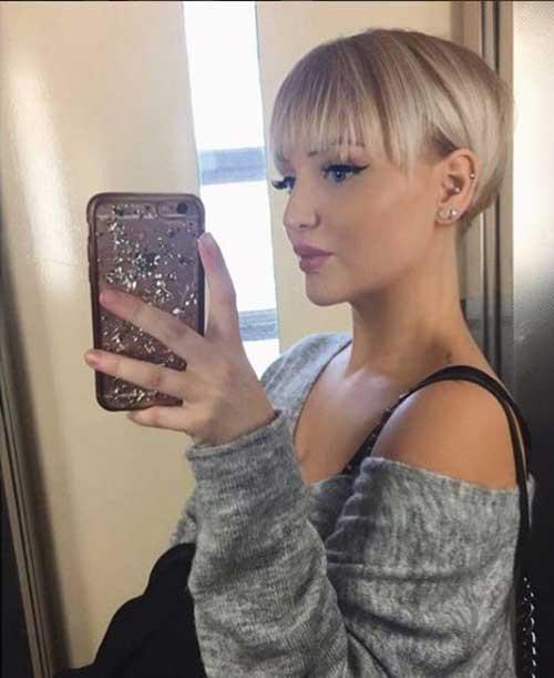 Adorable-Short-Haircut-for-Fine-Hair Super Cute Short Hairstyles for Fine Hair