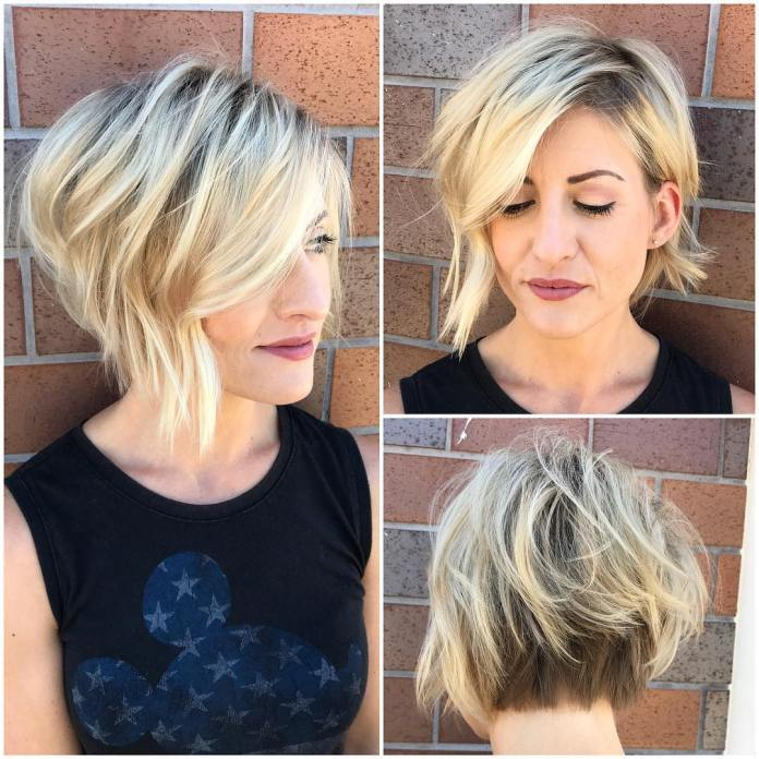 Asymmetrical-Bob Most Coolest Variation of Bob Haircuts to Try Now