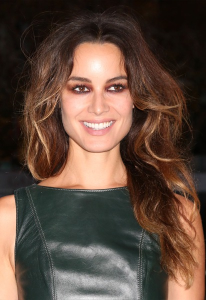 Berenice-Marlohe-Long-Wavy-Hairstyle Most Beautiful Celebrity Long Haircuts To Adore