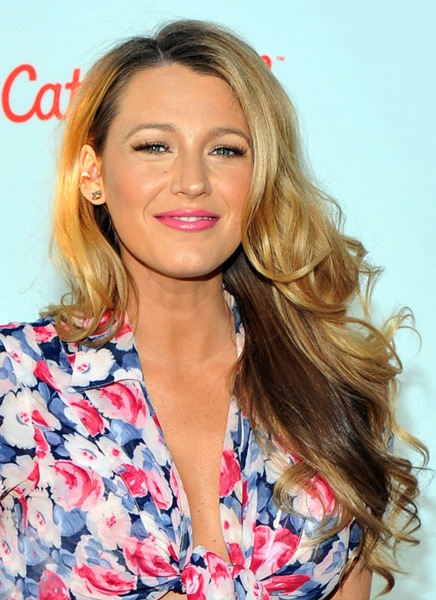 Blake-Lively-Long-Wavy-Hairstyle Most Beautiful Celebrity Long Haircuts To Adore