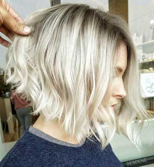 Blonde-Short-Wavy-Bob-Cut Best Short Wavy Bob Haircuts