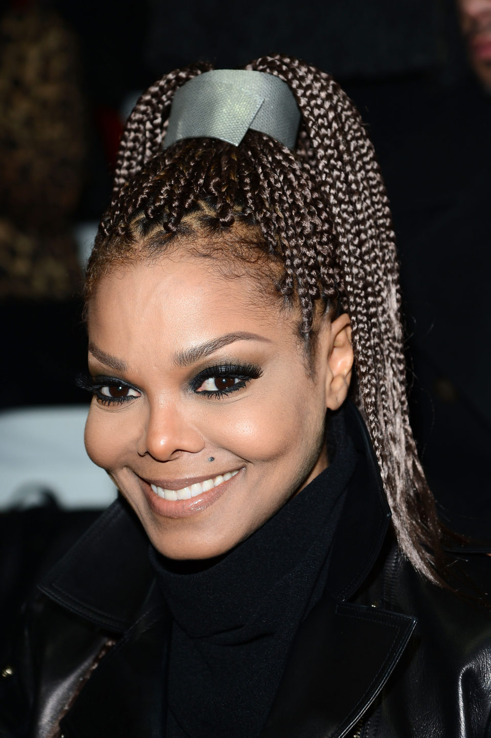 Braided-Pony-Hairstyle Poetic Justice Braids to Flaunt Your Fabulous Look