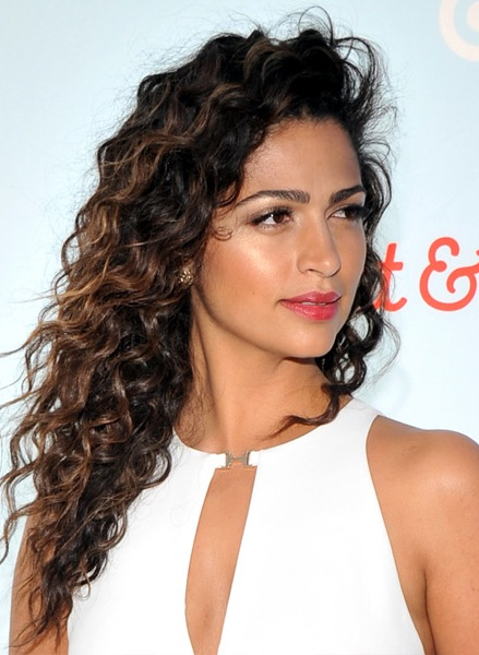 Camila-Alves-Long-Curly-Hairstyle Most Beautiful Celebrity Long Haircuts To Adore