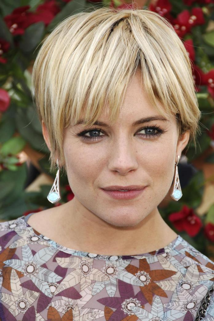 Classy-Short-Blonde-Haircut Celebrity Short Hairstyles for Glamorous Look
