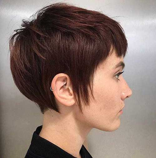 Cool-Style Best Layered Pixie Hairstyles