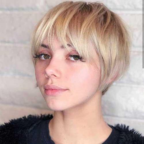 Cute-Bangs Super Cute Short Hairstyles for Fine Hair