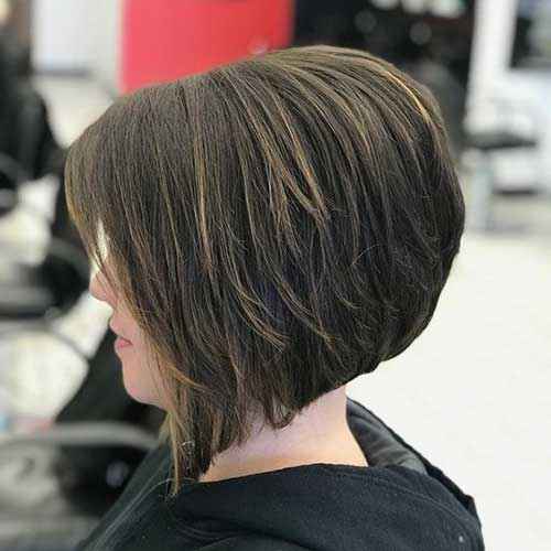 Dark-Brown-Short-Bob-Style-for-Women Short Bob Cuts for Stylish Ladies