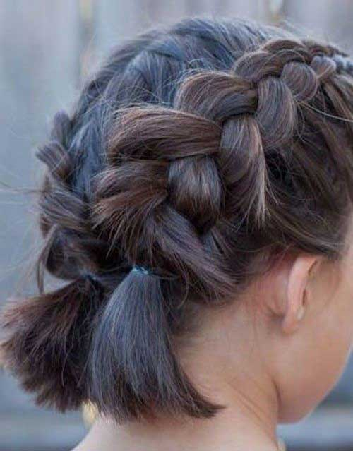 Easy-Style Alternatives Cute Braids for Short Hair