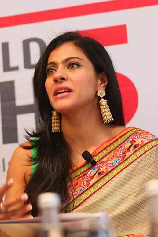 Kajol Top Indian Actresses With Stunning Long Hair