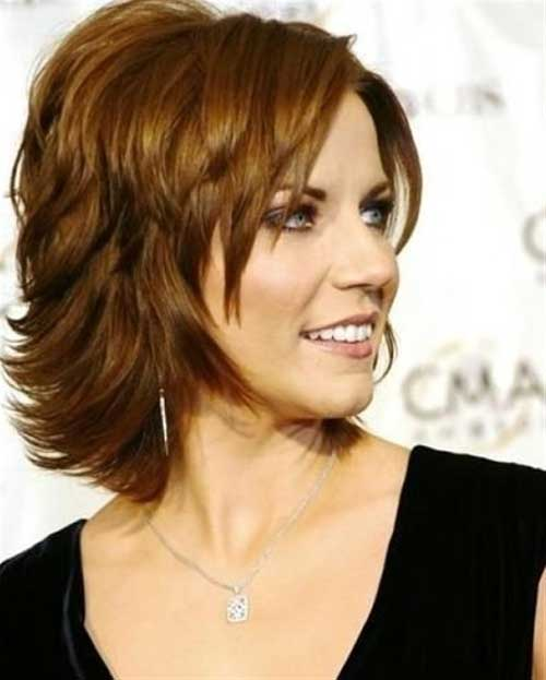 Layered-Bob-Hairstyle-for-Women-Over-50 Stylish and Perfect Layered Bob Hairstyles for Women