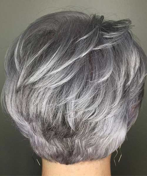 Layered-Haircut-Back-View Latest Pictures of Short Layered Haircuts