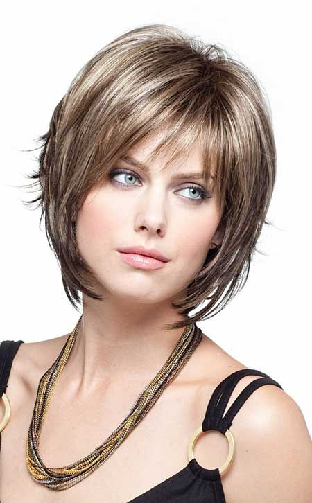 Layered-Short-Bob-Hairstyles Stylish and Perfect Layered Bob Hairstyles for Women