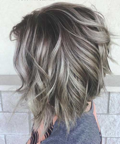 Long-Inverted-Bob Best Short Wavy Bob Haircuts
