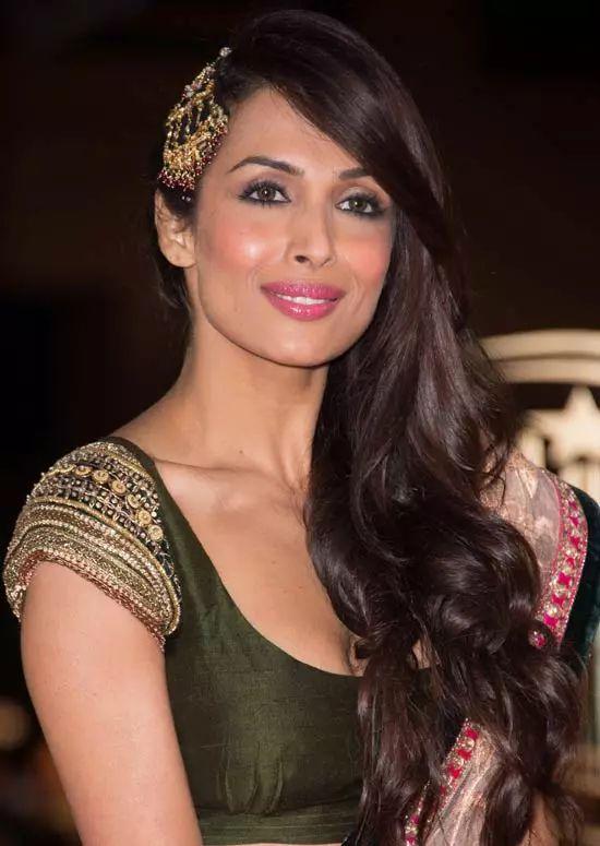 Malaika-Arora-Khan Top Indian Actresses With Stunning Long Hair