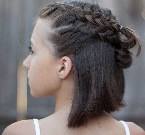 Multi-Braids Alternatives Cute Braids for Short Hair