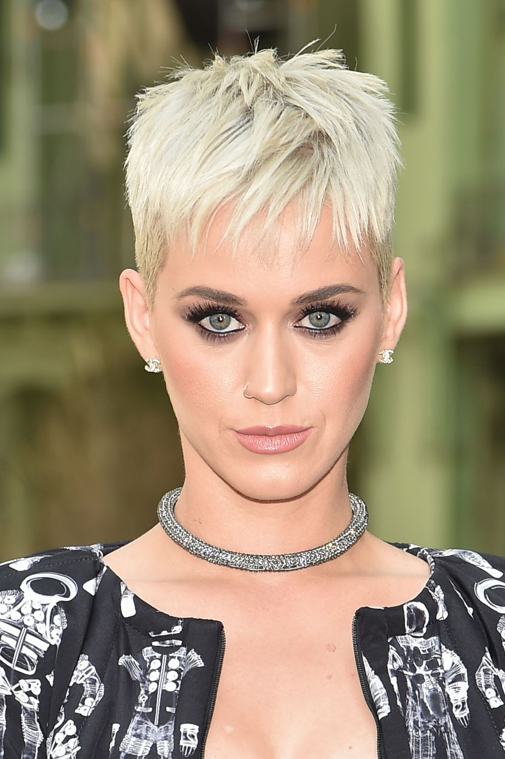 Pixie-with-an-Undercut Celebrity Short Hairstyles for Glamorous Look