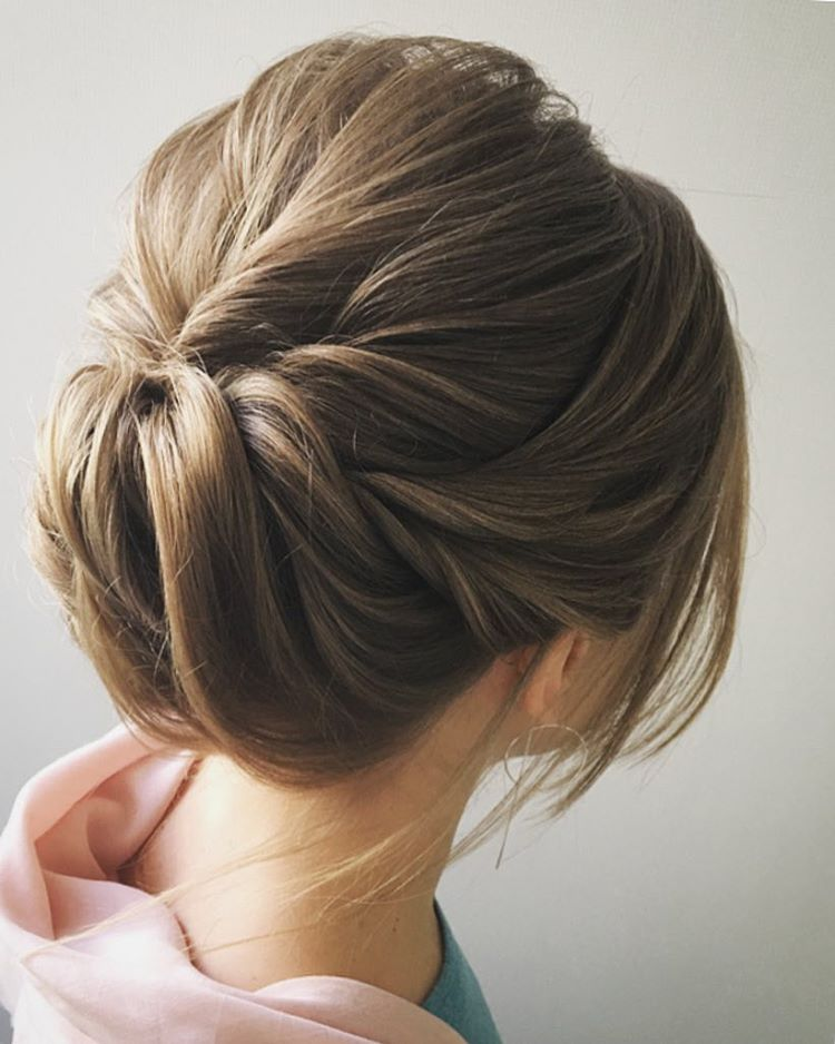 Quick-Updo-Hairstyle Most Gorgeous Looking Chignon Hairstyles