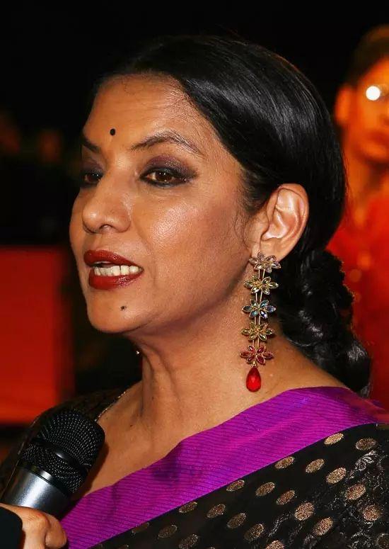 Shabana-Azmi Top Indian Actresses With Stunning Long Hair