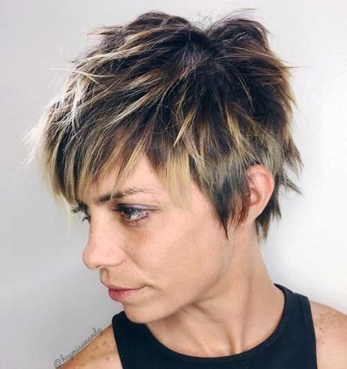 Shaggy-Pixie-Cut Latest Pictures of Short Layered Haircuts
