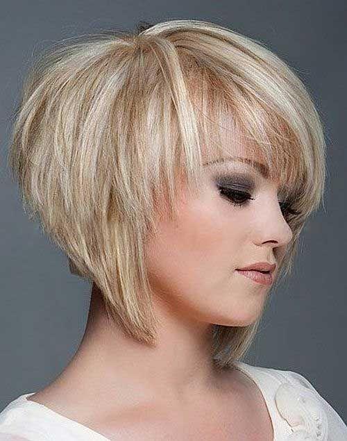 Short-Layered-Bob-Haircuts Stylish and Perfect Layered Bob Hairstyles for Women