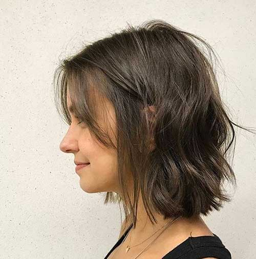 Short-Wavy-Bob-Hairstyle Best Short Wavy Bob Haircuts