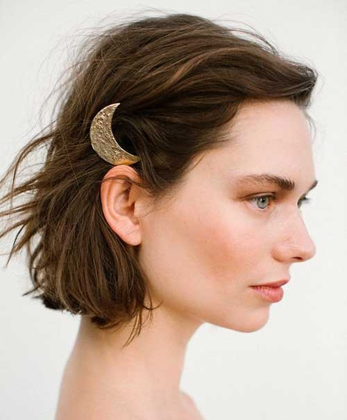 Side-Up Short Bob Cuts for Stylish Ladies