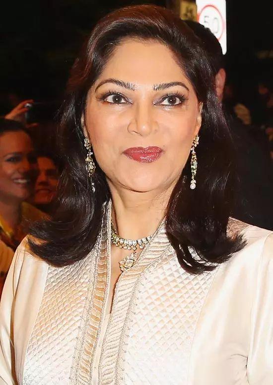 Simi-Garewal Top Indian Actresses With Stunning Long Hair