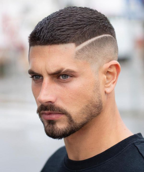 Surgical-Line Most Dynamic and Dashing Crew Cut for Men